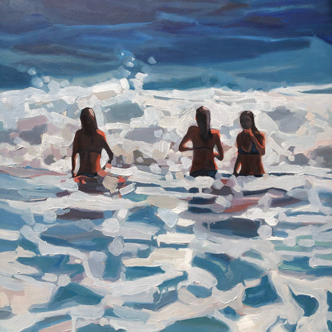 """Summer sisters"" SOLD"