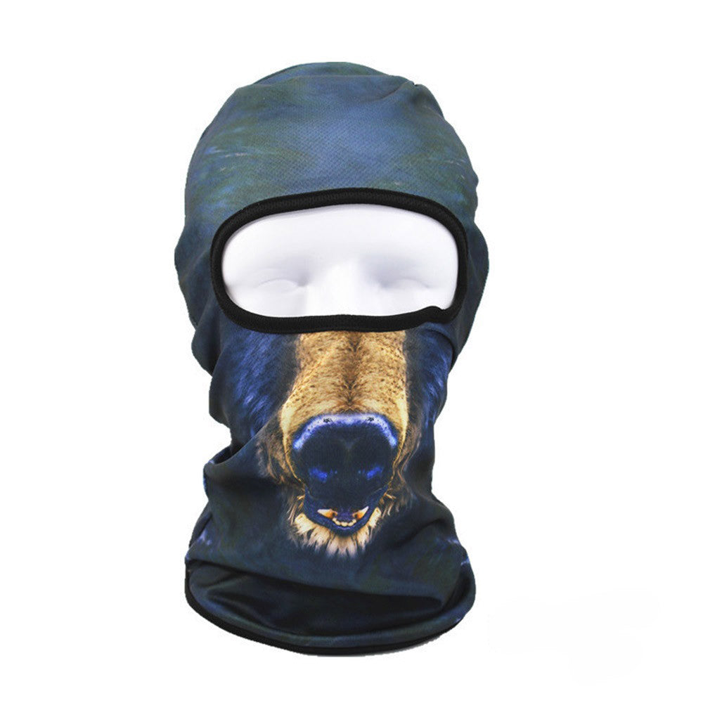 3D Animal Face Ski Masks