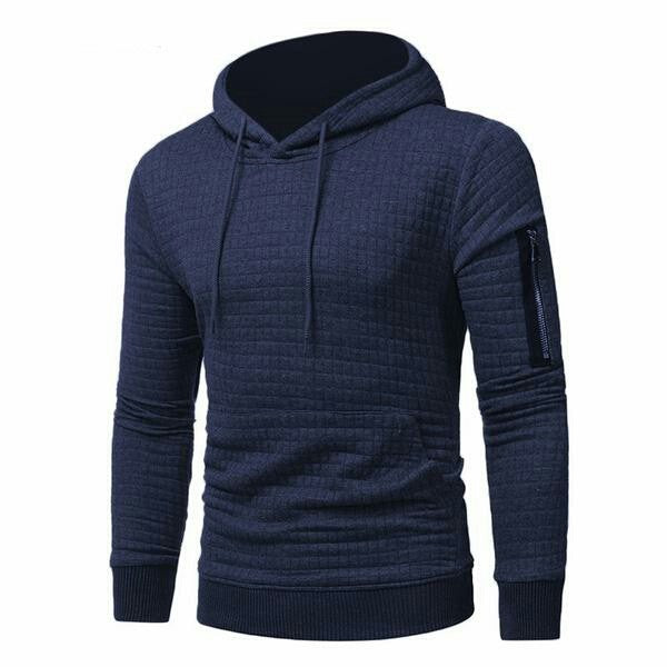 Hoodie Tracksuit Men's Thick Clothes  Hooded Sweatshirt Men