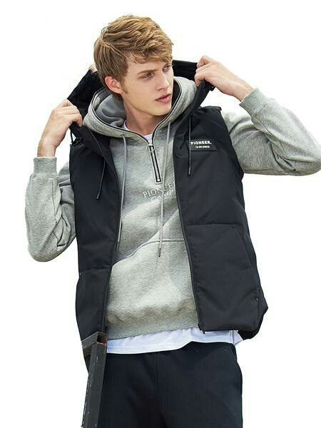 men brand clothing sleeveless jacket