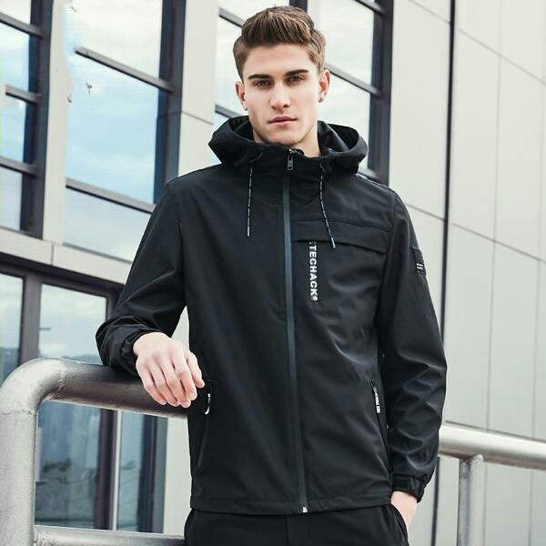 New Spring jacket men brand clothing fashion hoodie jacket coat male top quality