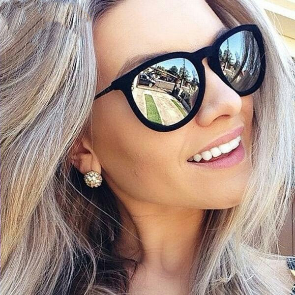 Women Sunglasses Polarized Mirror Brand Designer UV400 Fashion Sun Glasses