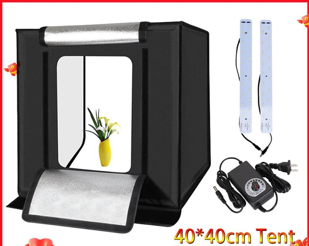 LED Folding Photo Studio Softbox Lightbox
