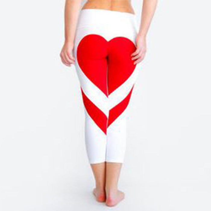 """2 halves make a whole"" heart leggings"