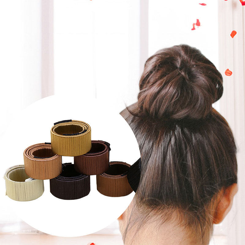 """Zipper""Easy Hair Bun Maker"
