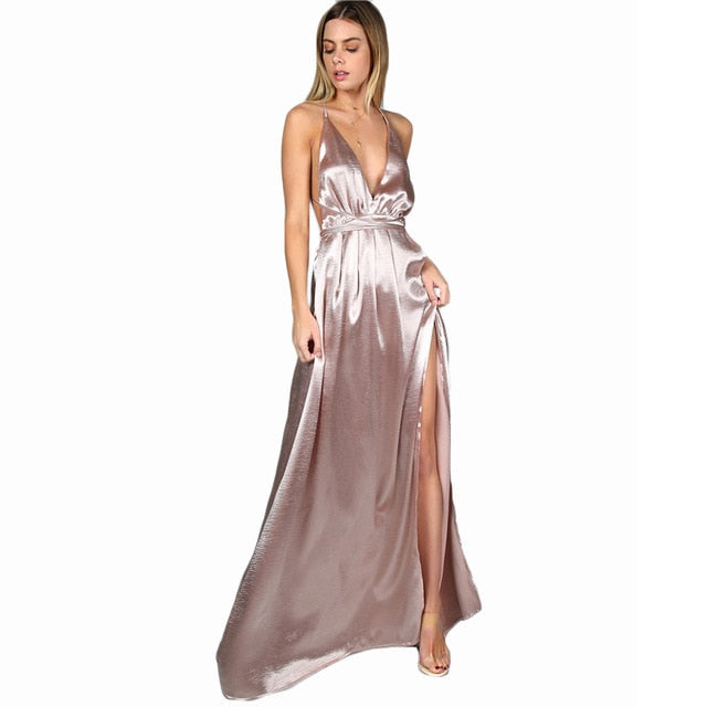 Maxi Dress Women Sexy  Elegant Dress