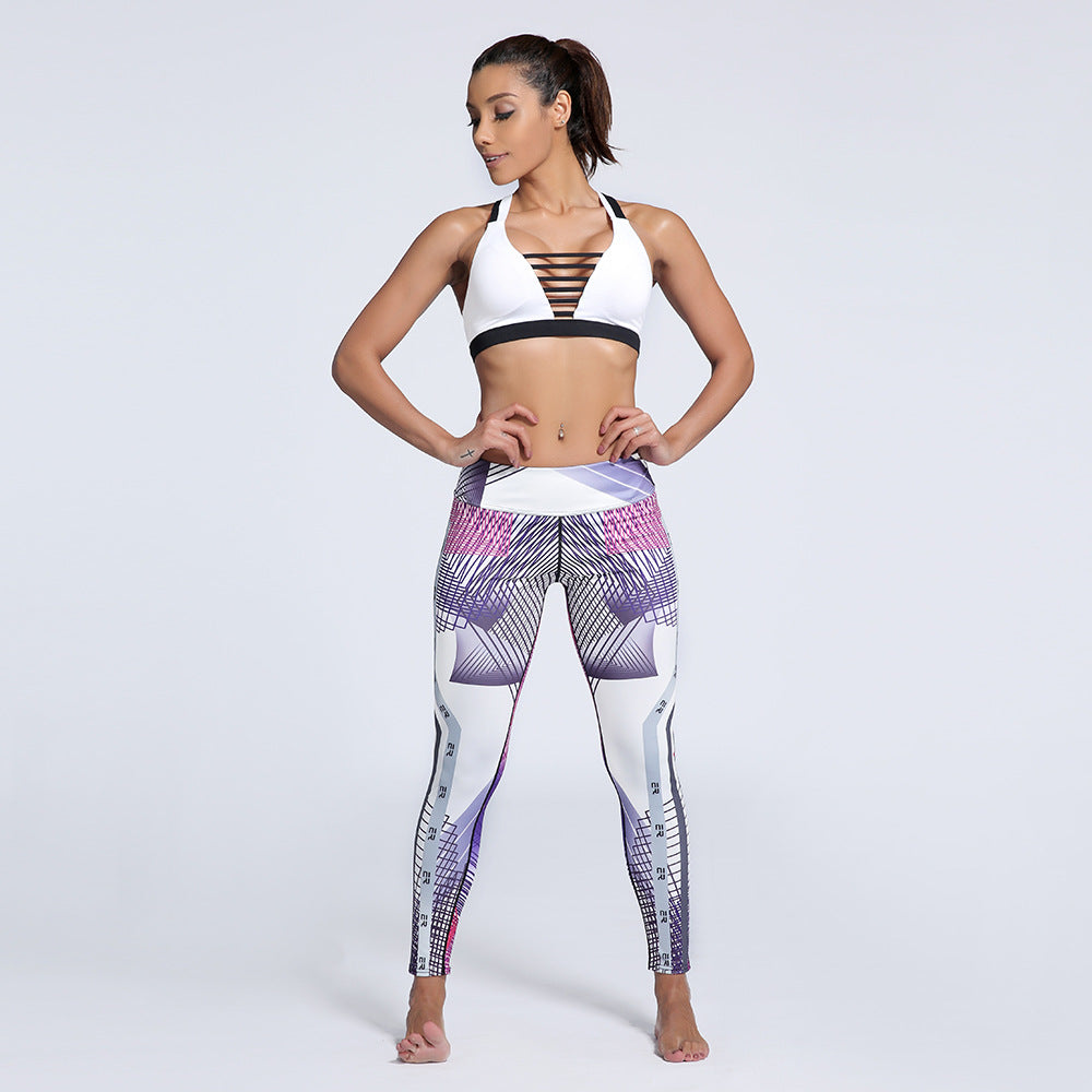 Galaxy Gradient Sporting Leggings  Fitness Women Fashion Slim Popular Sexy Workout