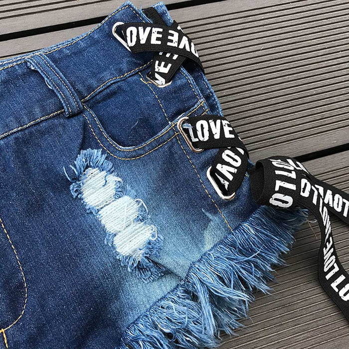 Women denim jeans Ultra-short