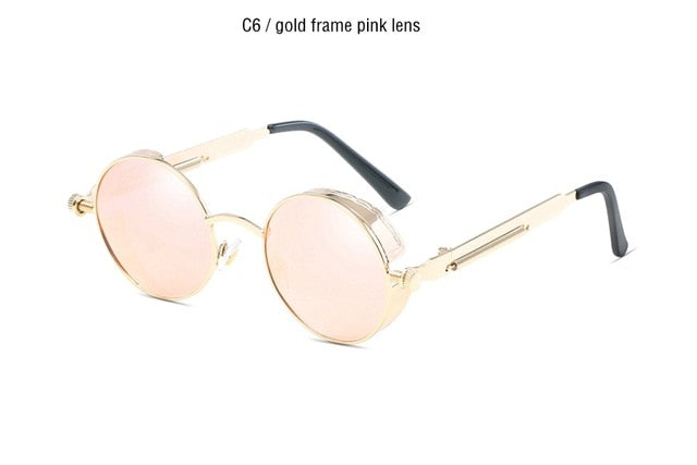 Classic Gothic Steampunk Sunglasses Polarized Men Women