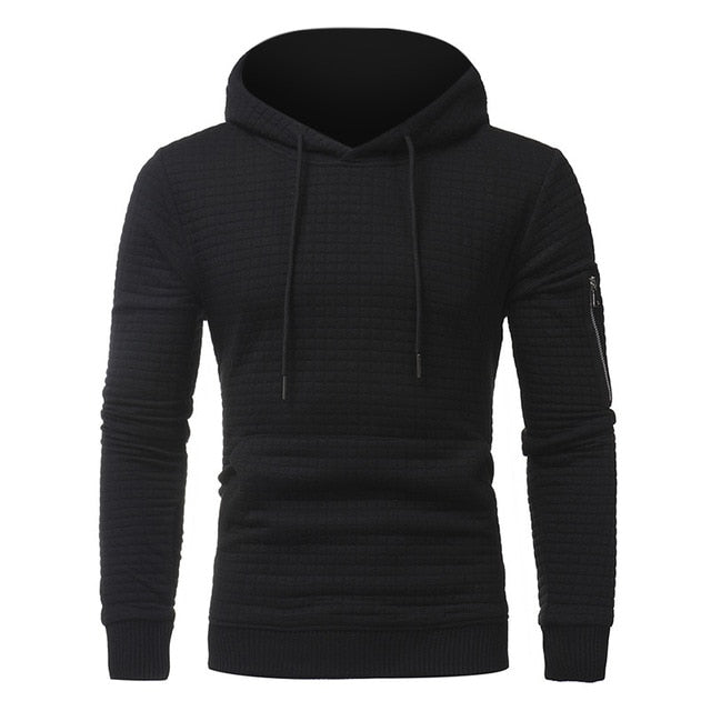 New Fashion Men Hoodies Cotton Hooded Zipper Long Sleeve Sweatshirts Men