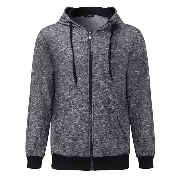 Men's Hoodies  Sweatshirts Long Sleeve Cotton Hoodie Hooded Casual Sweatshirt