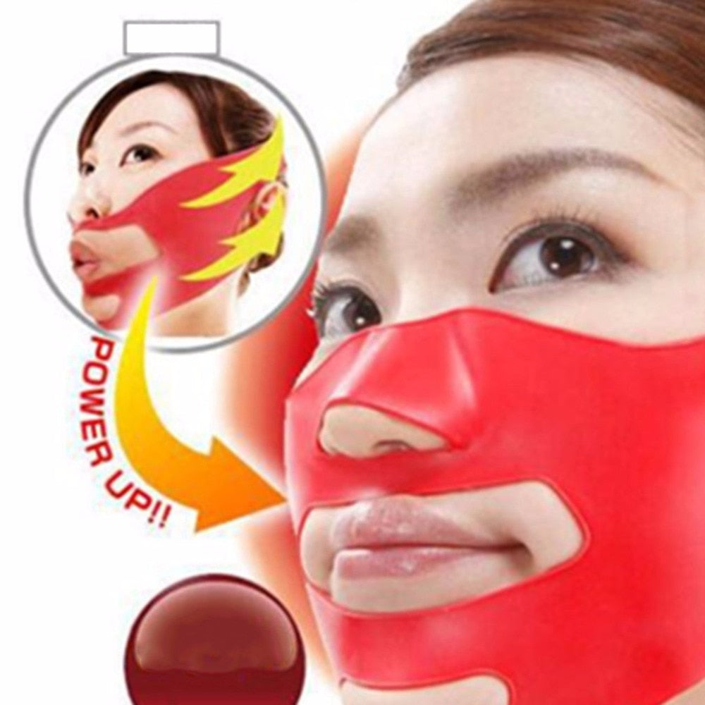 Silicone Face Slimming Mask Face Lifting Wrap V Shape