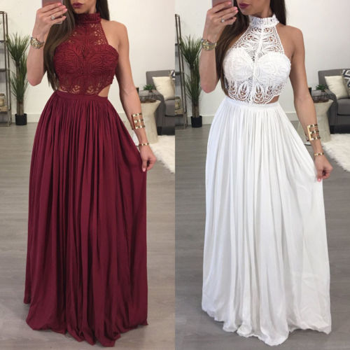 Women Long Maxi Summer Evening Party Pageant Formal Dress