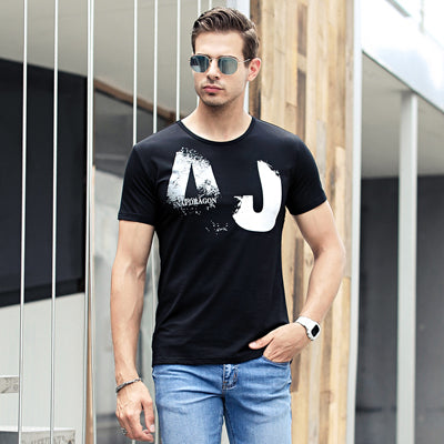 Men's fashion new arrival American style cotton T shirt