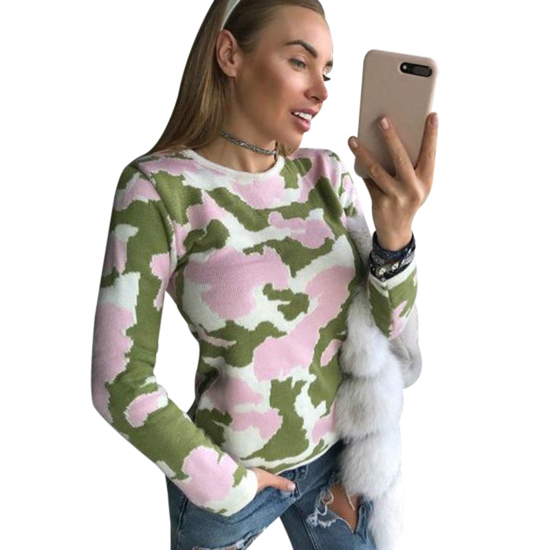New Women  Sweater Long Sleeve Pullovers