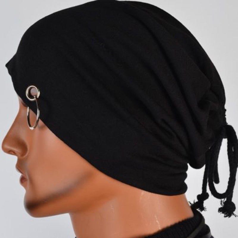 Hiphop Islamic Head Wear Hoop-ring Muslim Scarf  Men Inner Cap
