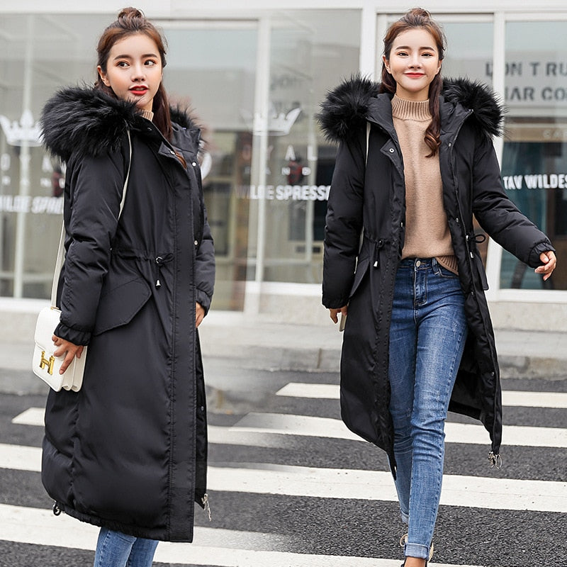 Women's Winter Coat  long thick loose loose jacket for women