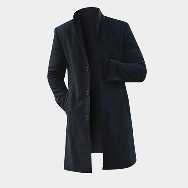 Fashion Men's Trench Long Jackets !!!