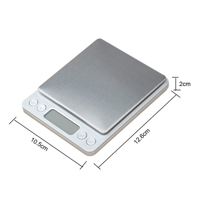 Portable 5kg 1g Digital Scale LCD Electronic Scales Steelyard 3kg 0.1g