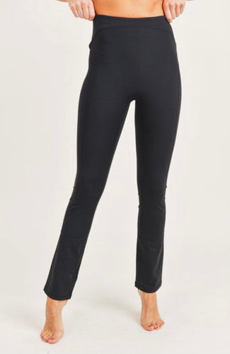 Bootcut High Waist Leggings
