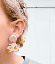 Load image into Gallery viewer, Spotted Polymer Clay Earrings #2