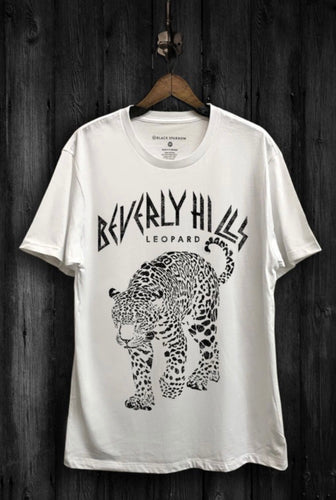 Beverly Hills Leopard Graphic Tee