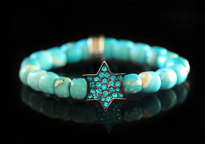 Manhattan Tribe Turquoise & Crystal