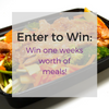 Enter to win a week's worth of meals!