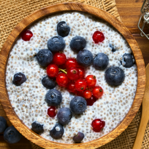 Snack - Berry Chia Pudding