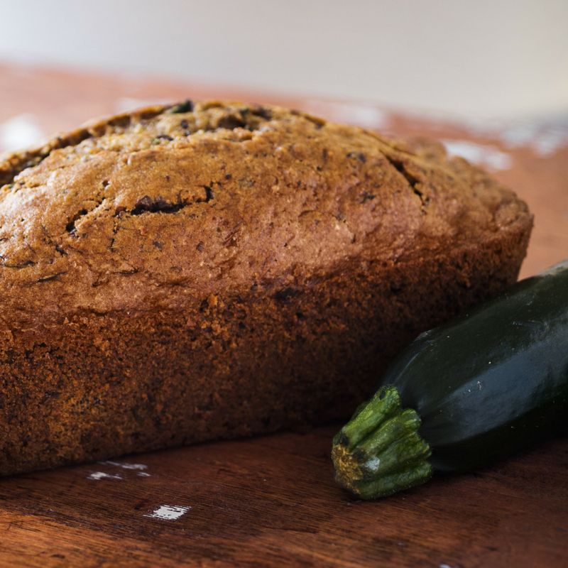Chocolate Zucchini Bread | Paleo Baked Goods