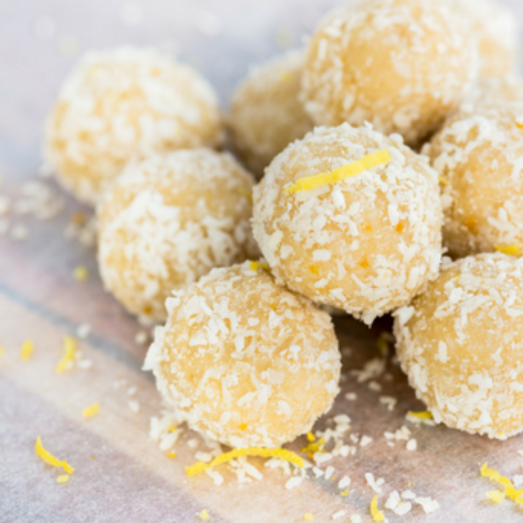 Snack- Lemon Coconut Truffles