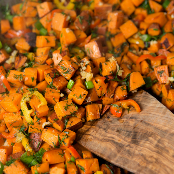Yam & Sausage Hash | Frozen Ready Made Paleo Meal