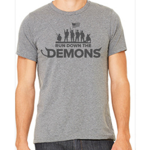 Run Down the Demons Premium Tee #2