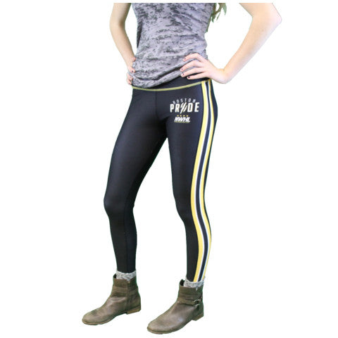 Boston Pride NWHL Gametime Leggings