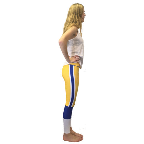 Gametime Leggings inspired by PITT's old-school days