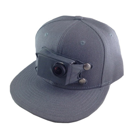 Grey GoSolo Hat