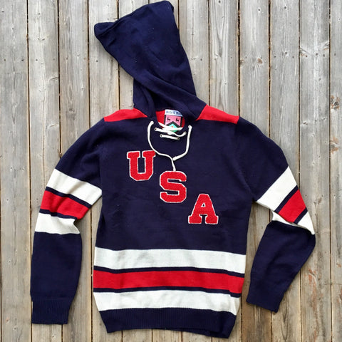 USA Olympic-Inspired Sweater