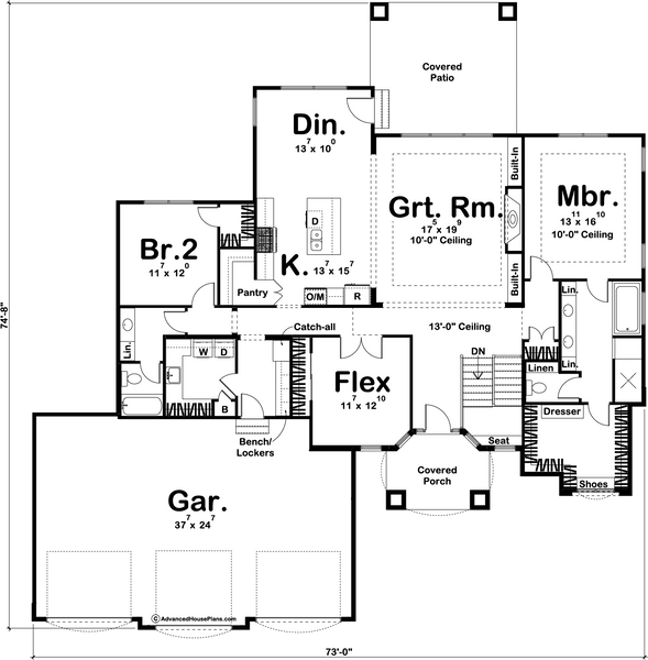 The Richmond House Plan House Plans