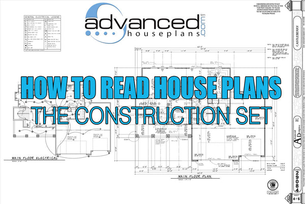 how to read house plans the construction set