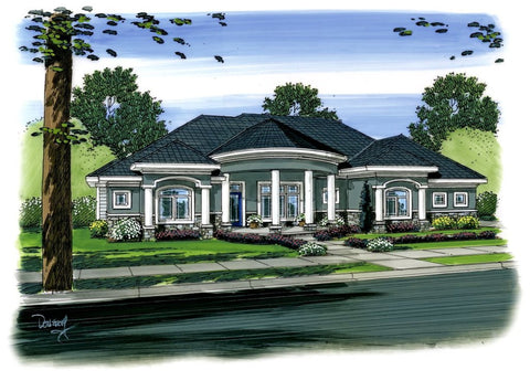 Bellamare - Advanced House Plans