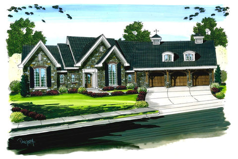 Stoneridge - Advanced House Plans