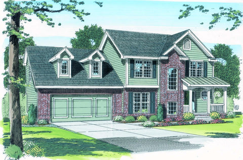 Brackett - Advanced House Plans