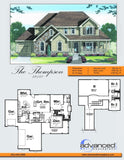 1.5 story traditional house plan book