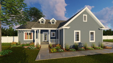 Hansley - Advanced House Plans