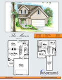 2 story traditional house plan book