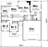 Broomfield - Advanced House Plans