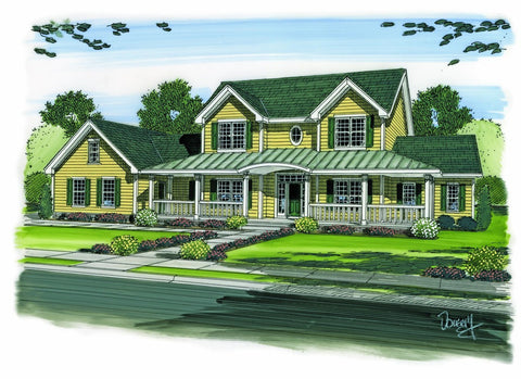 Strattfield - Advanced House Plans
