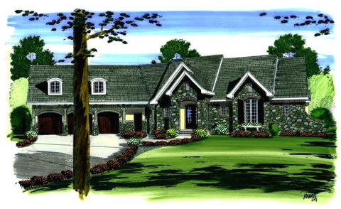 Dupont Chateau - Advanced House Plans