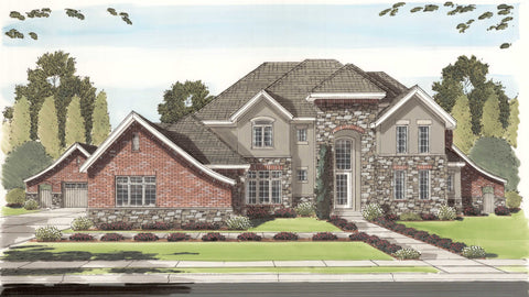 Kirkwood Manor - Advanced House Plans