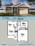 One story craftsman style house plan